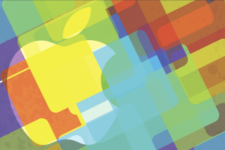 Macbook Logo Background for LG Optimus U