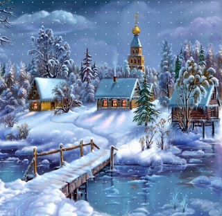 Christmas Night - Fondos de pantalla gratis para iPad 2