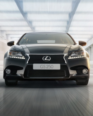Lexus GS250 Background for 640x1136