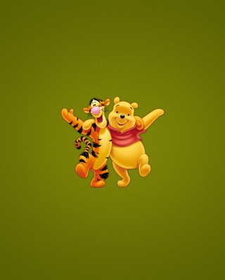 Winnie The Pooh And Tiger Picture for Nokia C2-03