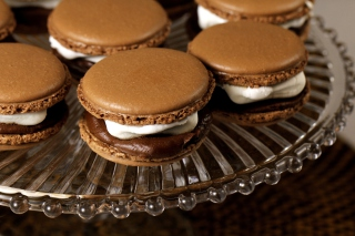Chocolate And Cream Macarons - Obrázkek zdarma pro Widescreen Desktop PC 1920x1080 Full HD