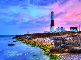 Free Lighthouse In Portugal Picture for Android, iPhone and iPad