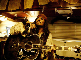 Johnny Depp Background for Android, iPhone and iPad