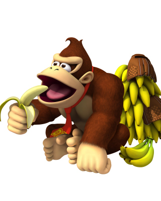 Donkey Kong Computer Game Background for Nokia C1-01