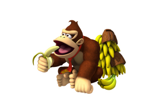 Donkey Kong Computer Game Background for Android, iPhone and iPad