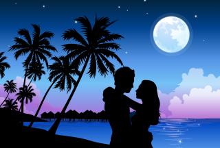 Romantic Paradise Wallpaper for Android, iPhone and iPad