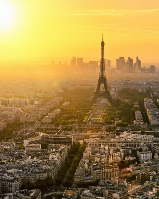 Paris Sunrise Background for Nokia C1-01