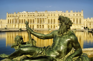 Palace of Versailles Background for Android, iPhone and iPad