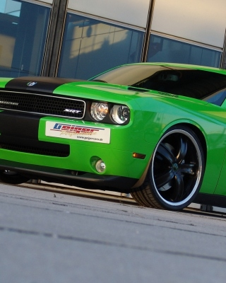 2011 Dodge Challenger SRT8 392 Background for HTC Titan