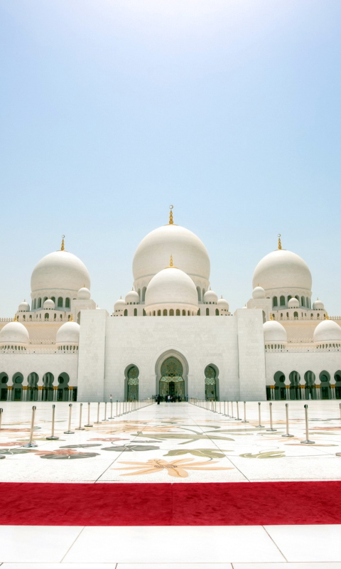 Abu Dhabi wallpaper 480x800