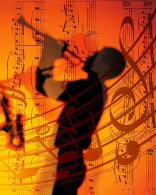 Jazz Duet Wallpaper for iPhone 6 Plus