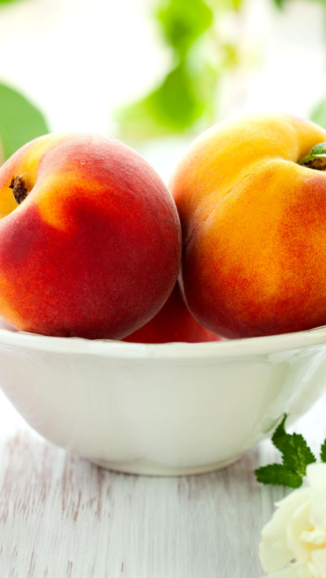 Sfondi Nectarines and Peaches 640x1136