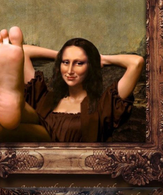 Art Parodies - Mona Lisa Background for 640x1136