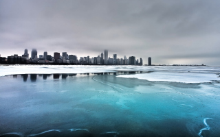 Cold City Wallpaper for Android, iPhone and iPad