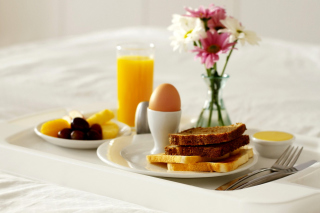 Continental Breakfast Background for Android, iPhone and iPad