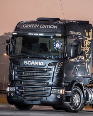 Scania R480 Truck Wallpaper for 176x220