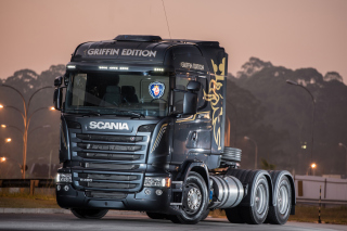 Free Scania R480 Truck Picture for 1080x960