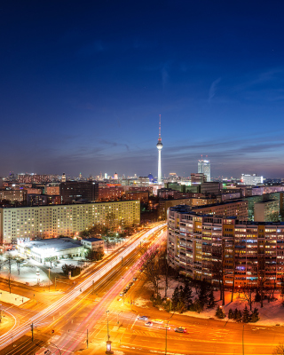 Berlin City Center Wallpaper for iPhone 6 Plus