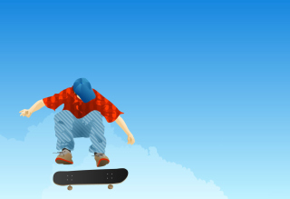 Skater Boy Background for Android, iPhone and iPad