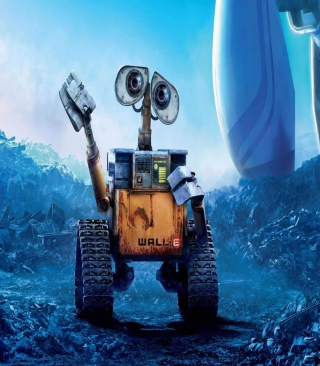 Wall-E Background for 240x320