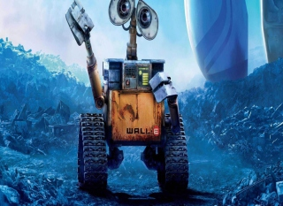 Wall-E Background for Android, iPhone and iPad