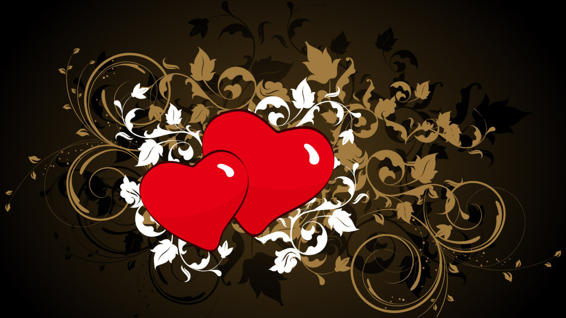 Сердце, амур, день Святого Вал на телефон