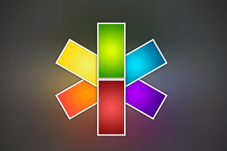 Free Color Kaleidoscope Picture for Nokia XL