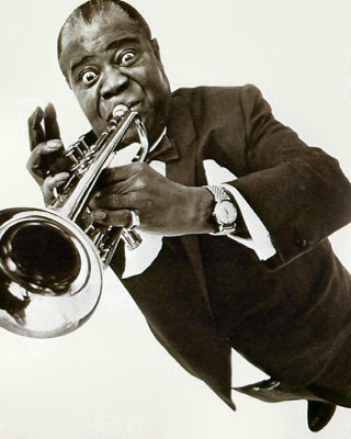 Louis Armstrong Picture for HTC Titan