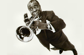 Louis Armstrong Background for Android, iPhone and iPad