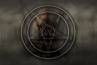 Pentagram Background for Widescreen Desktop PC 1920x1080 Full HD
