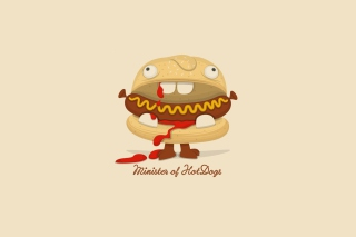 Minister Of Hot Dogs papel de parede para celular