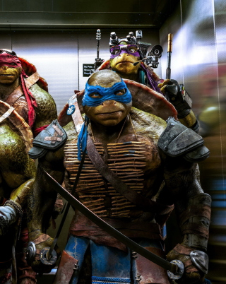 Ninja Turtles sfondi gratuiti per iPhone 6 Plus