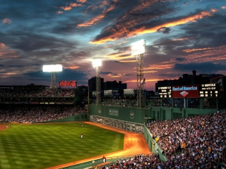 Screenshot №1 pro téma Fenway Park Boston Massachusetts 320x240