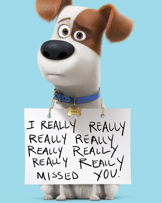 Max from The Secret Life of Pets sfondi gratuiti per 768x1280