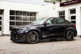 BMW X6 Black with Leather Seats - Obrázkek zdarma