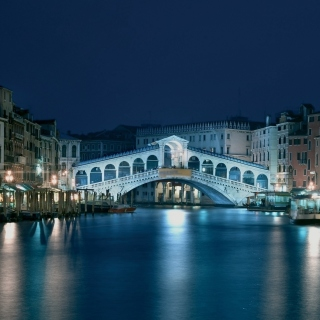 Night in Venice Grand Canal sfondi gratuiti per iPad mini