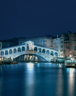 Night in Venice Grand Canal sfondi gratuiti per HTC Trophy