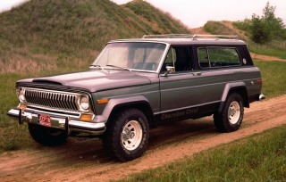 1976 Jeep Cherokee Background for Android, iPhone and iPad