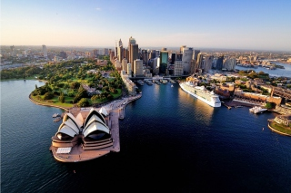 Sydney Roof Top View Wallpaper for Android, iPhone and iPad