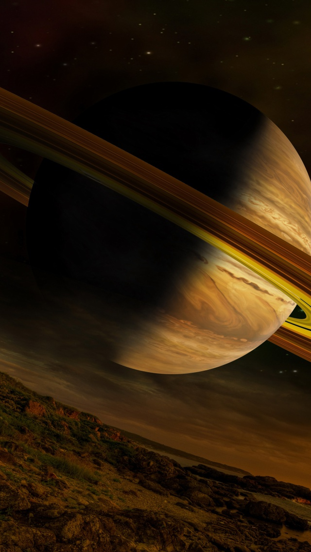planet saturn wallpaper for iphone 5. Black Bedroom Furniture Sets. Home Design Ideas