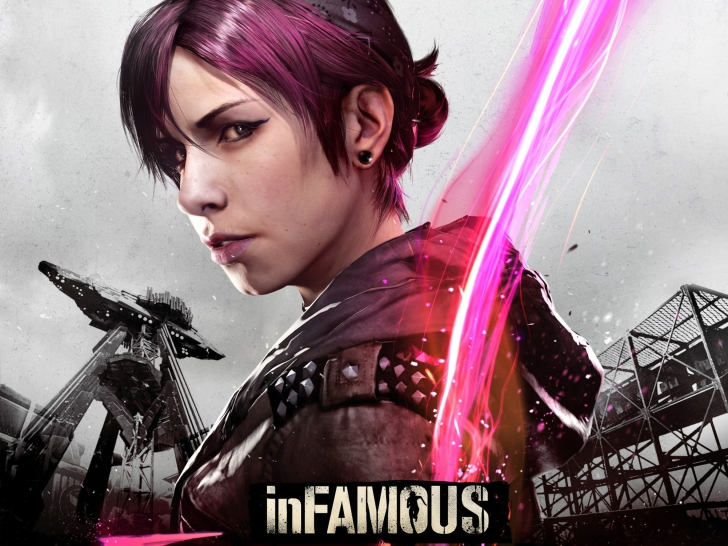 Screenshot №1 pro téma InFAMOUS First Light