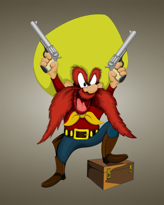 Looney Tunes   Yosemite Sam - Fondos de pantalla gratis para iPhone 6 Plus