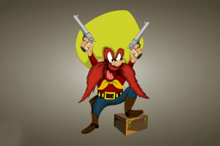 Looney Tunes   Yosemite Sam Background for Android, iPhone and iPad