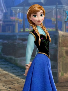 Screenshot №1 pro téma Frozen Disney Cartoon 2013 240x320