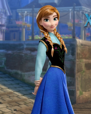 Kostenloses Frozen Disney Cartoon 2013 Wallpaper für Nokia C2-03