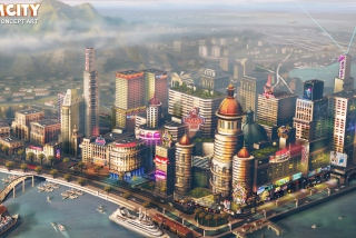 2013 Simcity Game Concept Art Picture for Android, iPhone and iPad