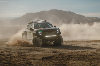 Ford F150 Raptor Background for Samsung Galaxy Tab 4