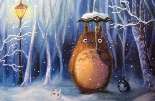 My Neighbor Totoro - Fondos de pantalla gratis para HTC One V