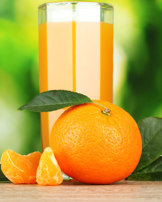 Orange and Mandarin Juice sfondi gratuiti per Nokia Lumia 800