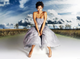 Halle Berry Wallpaper for HTC Desire HD